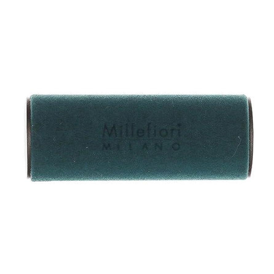 ブルーム舗装質素なMillefiori MILANO ミッレフィオーリ カーエアフレッシュナー VELLUTO ヴェルート (スパイシーウッド) 1個
