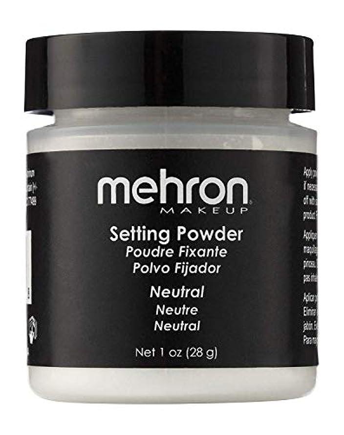 曲線宮殿フルートmehron UltraFine Setting Powder with Anti Perspriant Neutral (並行輸入品)