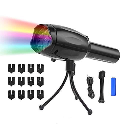 MiSha 投影ランプ 投影ライト LEDプロジェクターラン...