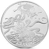 ToginAnleノルウェーの海の怪物記念コインコレクションギフトお土産アートメタルアンティーク