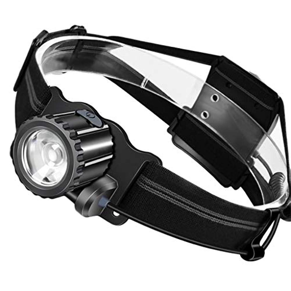 Continuous ヘッドライト、釣りライトサーチライトスーパーブライト防水LEDランタン懐中電灯用マイナー緊急事態キャンプハイキング Long service life (色 : 800 lumens)