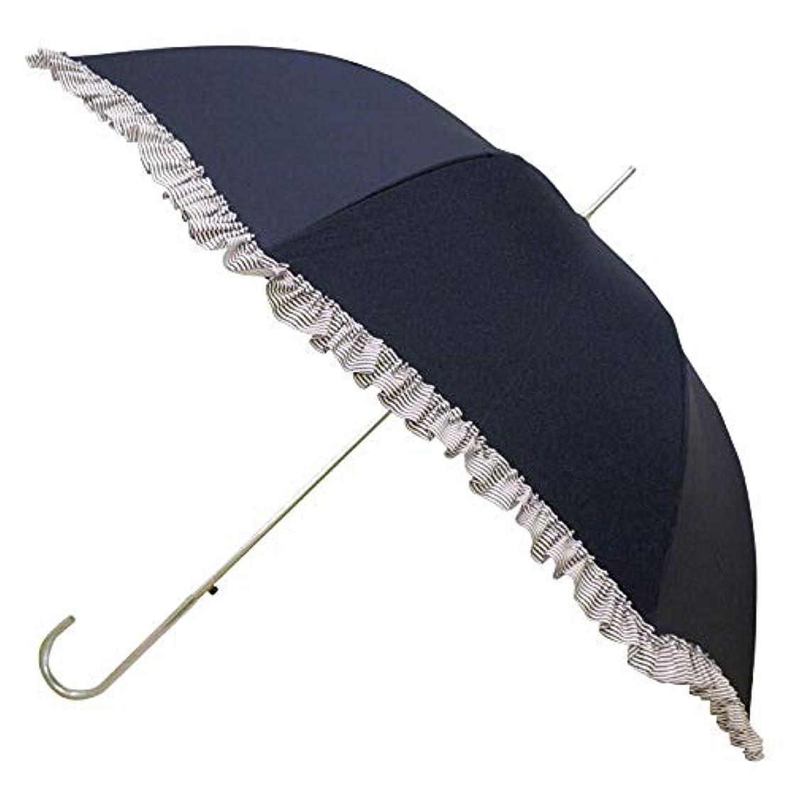 潜水艦ペックスプレーピンクトリック 長傘 日傘/晴雨兼用傘 ジャンプ ネイビー 50cm 84952