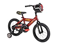 Huffy Bicycle Company Number 21785 Disney Cars Bike, Racing Red/Gloss Black, 16-Inch by Huffy Bicycle Company