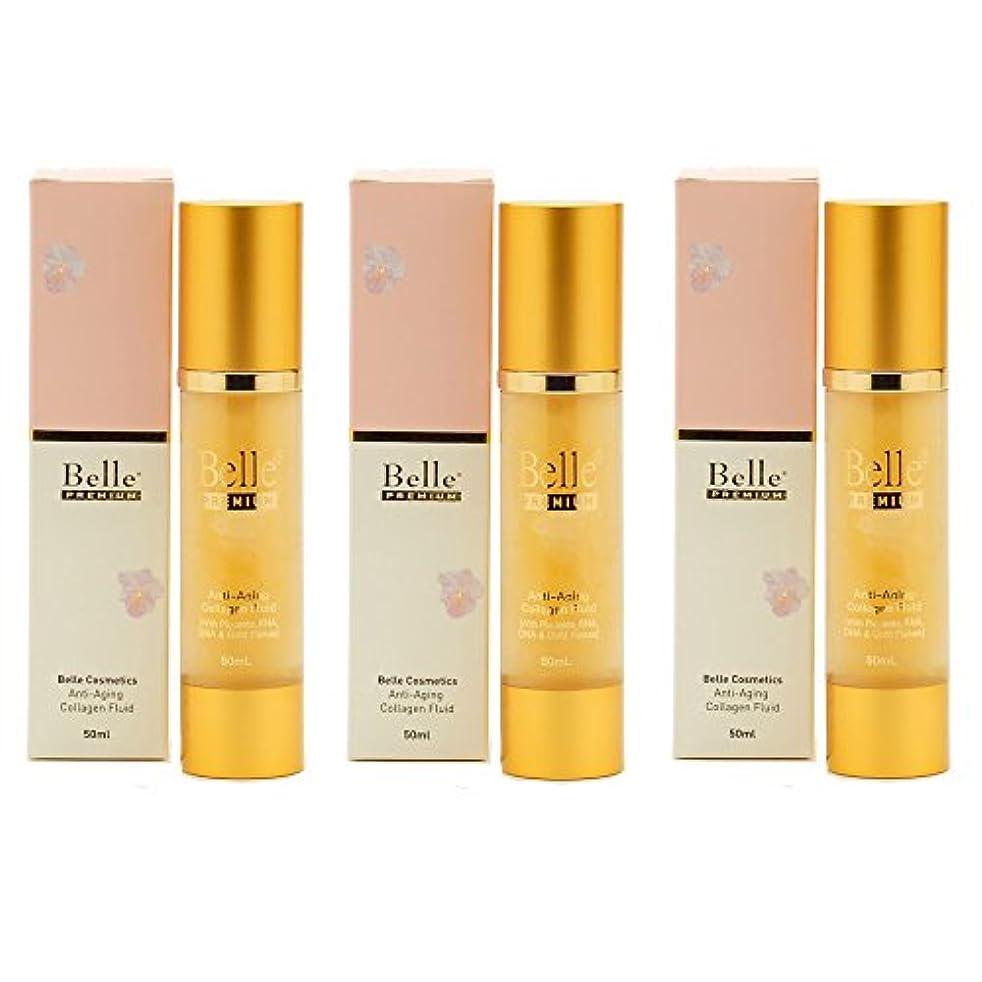 確認してくださいメナジェリー伝統的[Belle Cosmetics]ベルコスメティック ベルプレミアム?コラーゲンジェル50gx3個【海外直送】