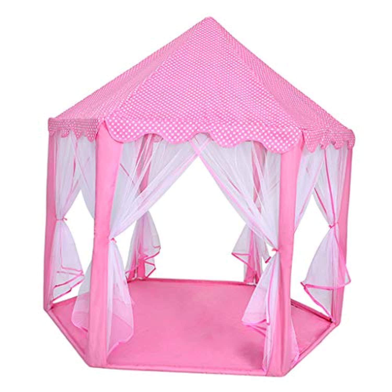DYNWAVE スポーツトイ プレイテント プレイハウス 演劇のテント 通気性 部屋装飾 小道具 ピンク