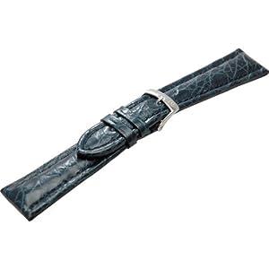 [モレラート]MORELLATO TIPO BREITLING 3 ティポ ブライトリング 時計ベルト 20mm ダークブルー クロコダイル時計ベルト U2120 052 062 020