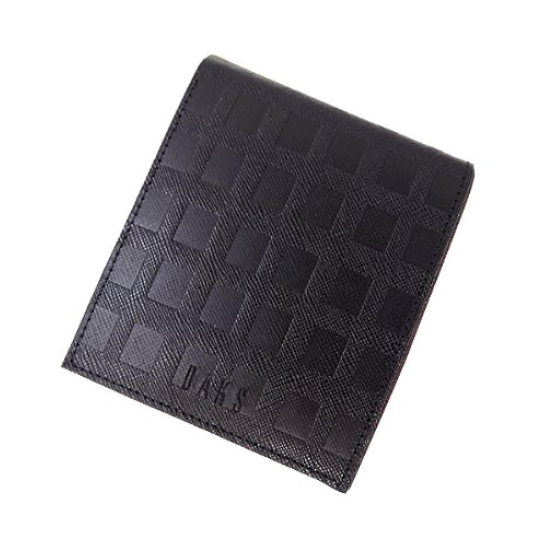 ダックス スクエア型押し二つ折り財布