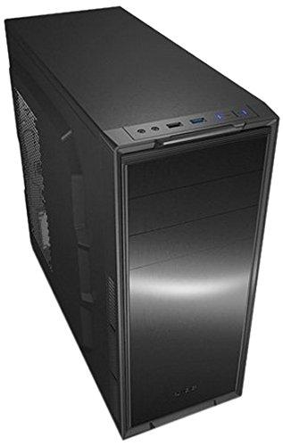 REEVEN USB3.0/2.5インチSSD対応 ATXミドルタワーPCケース ツールフリー RE-A18002-B