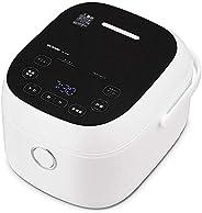 アイリスオーヤマ IH炊飯器 5.5合 糖質カット機能 低糖質炊飯 玄米 もち麥 充実のヘルシーメニュー IH式 ヘルシーサポート炊飯器 ホワイト RC-IJH50-W