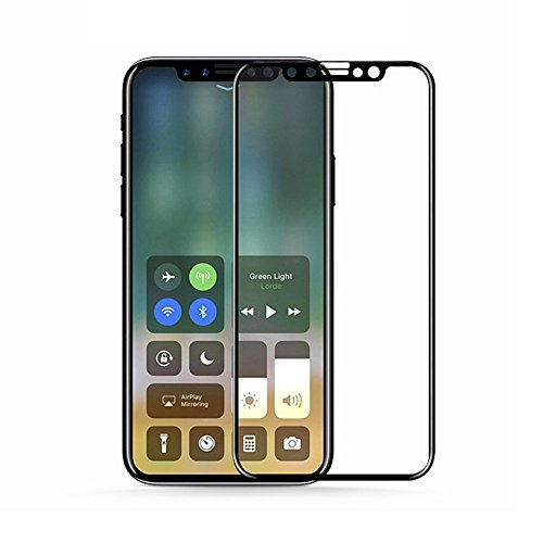 AVIDET For Apple iPhone X フルカバー 強化フィルム...
