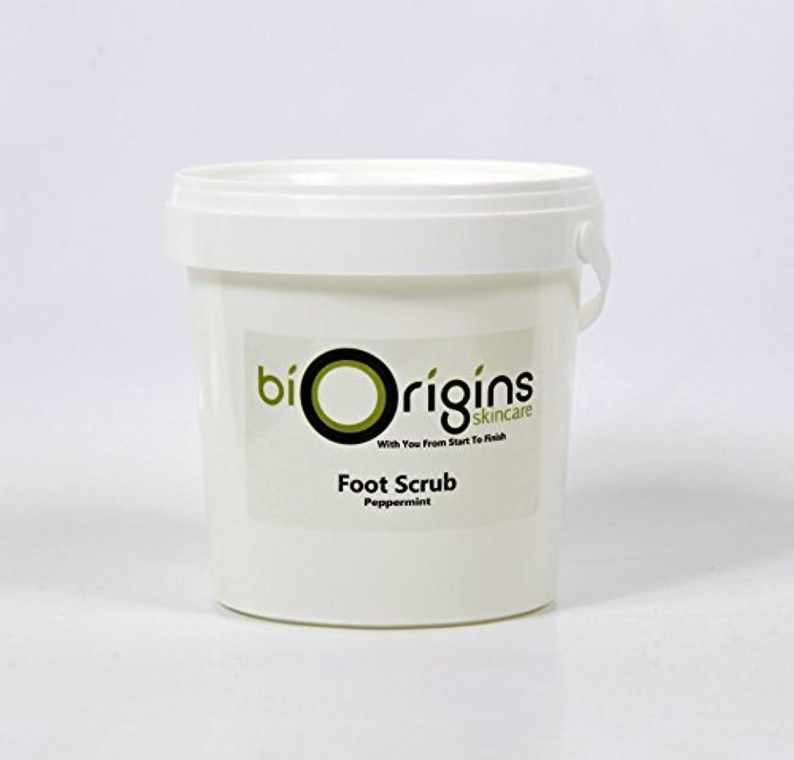 抗議性差別お酢Foot Scrub Peppermint - Botanical Skincare Base - 1Kg