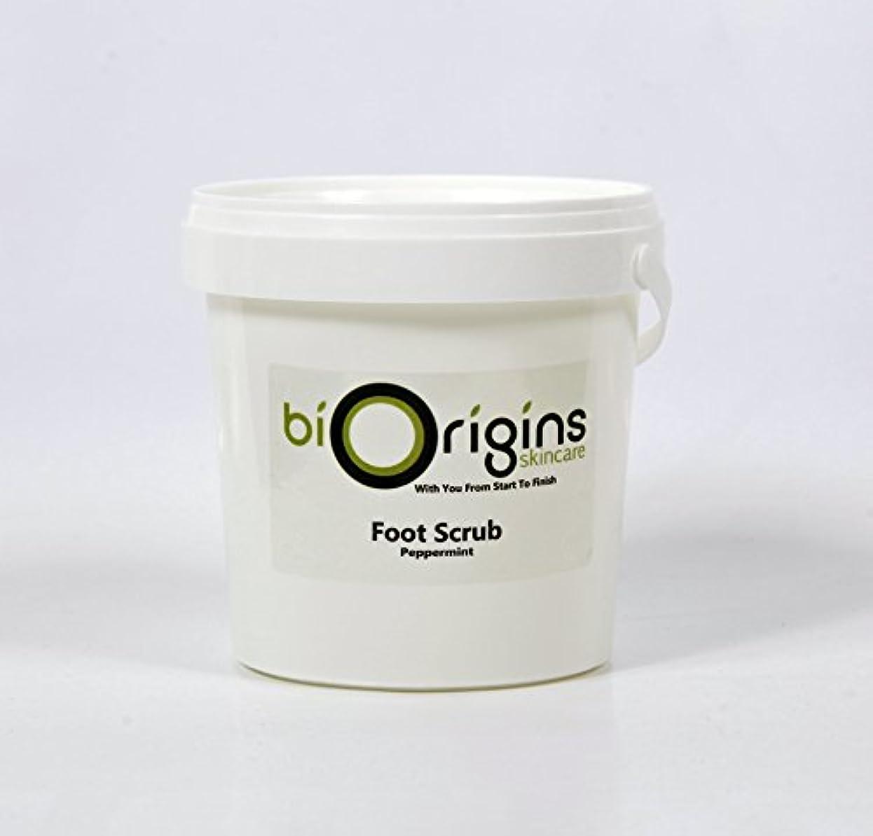 イブニング同情的給料Foot Scrub Peppermint - Botanical Skincare Base - 1Kg