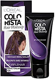 L'Oréal Paris Colourista Hair Makeup - Purple (Temporary 1-Day Colour Highlig