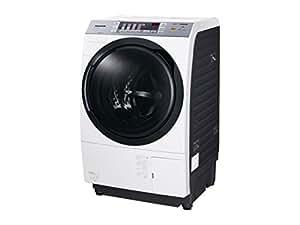 Panasonic ドラム式洗濯乾燥機 9kg 左開き クリスタルホワイト NA-VX3500L-W
