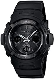 [Casio] CASIO Atomic Solar G-Shock Watch Men's Tough Solar D to Black AWG – m100b – AER Watch [parallel i