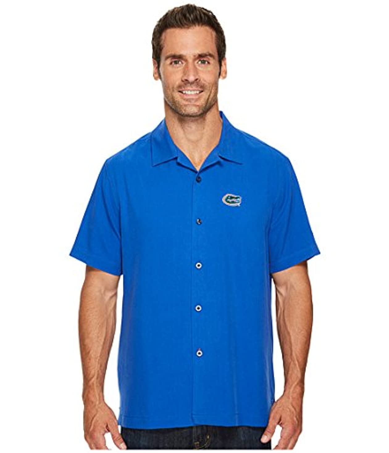 いっぱいグロー大統領(トミーバハマ)Tommy Bahama メンズシャツ?ワイシャツ Collegiate Series Catalina Twill University Of Florida 3XL 3XL [並行輸入品]
