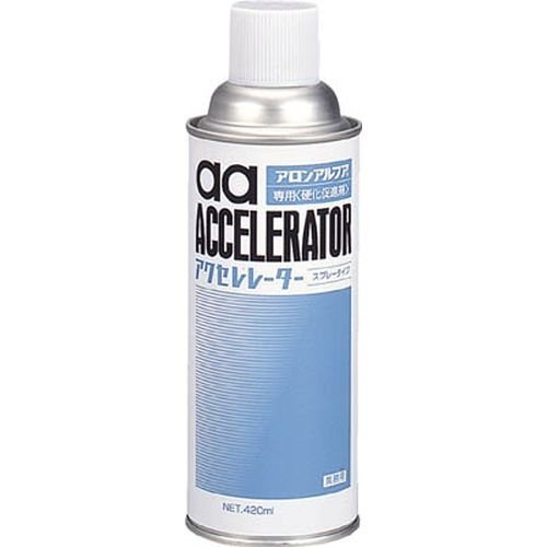 アロン アクセレレーター(硬化促剤) 420ml AA-AC420(アロンアルファセンヨウコウカソクシンザイ)