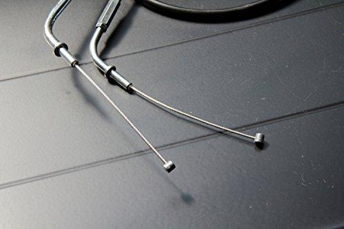 【103】 ゼファー400/χ/750 アクセルワイヤーSTD+20cm 2本SET WR-A01-3 WR-A01-3