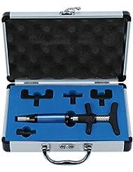脊椎カイロプラクティック調整ツールインパルスアジャスター脊椎活性化剤、6レベルマニュアルフォースヘッド脊髄マッサージャー、ポータブルカイロプラクティック調整キット(2#)