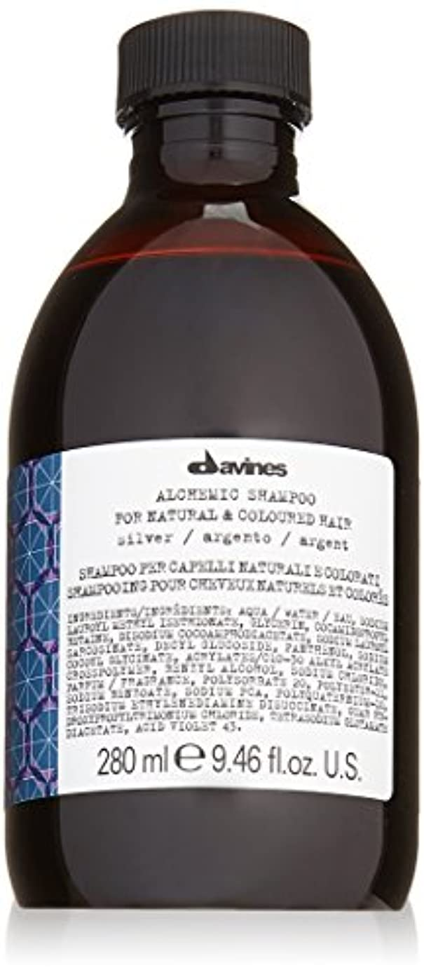一目もっと少なく早熟ダヴィネス Alchemic Shampoo - # Silver (For Natural & Coloured Hair) 280ml/9.46oz並行輸入品