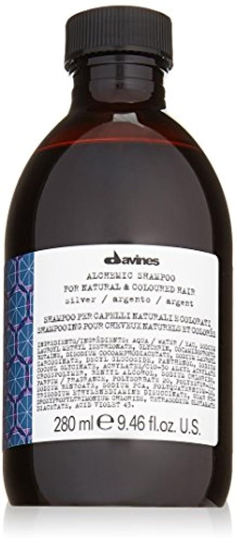 パッドペデスタルスタイルダヴィネス Alchemic Shampoo - # Silver (For Natural & Coloured Hair) 280ml/9.46oz並行輸入品