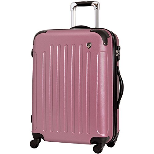 M型 ローズ / newFK10371 スーツケース キャリーバッグ 軽量 TSAロック (4~7日用) マット加工 フ...