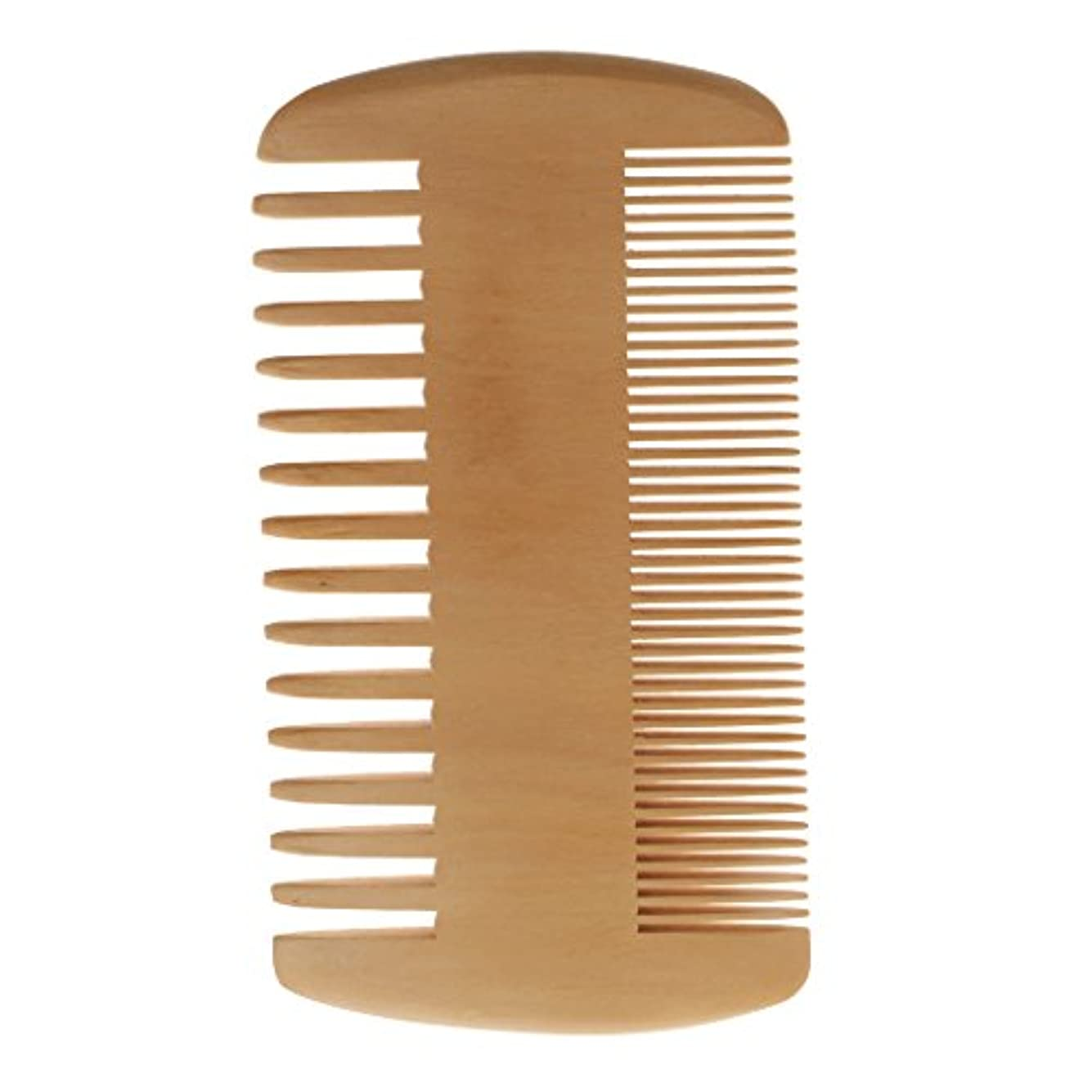 信号手織るSM SunniMix ポケットコーム 木製コーム 木製櫛 ヘアダイコーム ヘアブラシ 2倍 密度 歯 携帯 便利