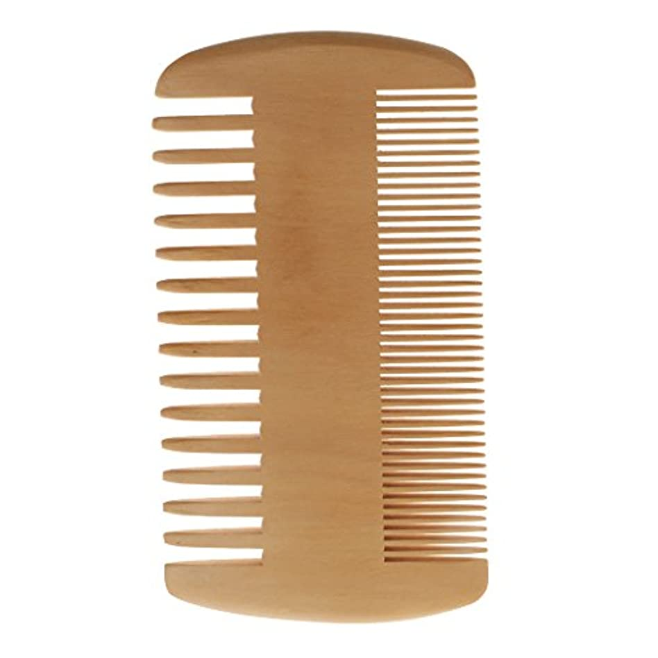 担当者比べる敬意を表してポケットコーム 木製コーム 木製櫛 ヘアダイコーム ヘアブラシ 2倍 密度 歯 携帯 便利