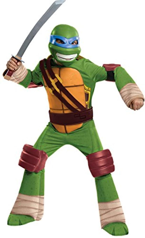 音声学脇にどういたしましてTeenage Mutant Ninja Turtles - Leonardo Kids Costume ティーンエイジミュータントニンジャタートルズ-レオナルド?キッズコスチューム?ハロウィン?サイズ:Large