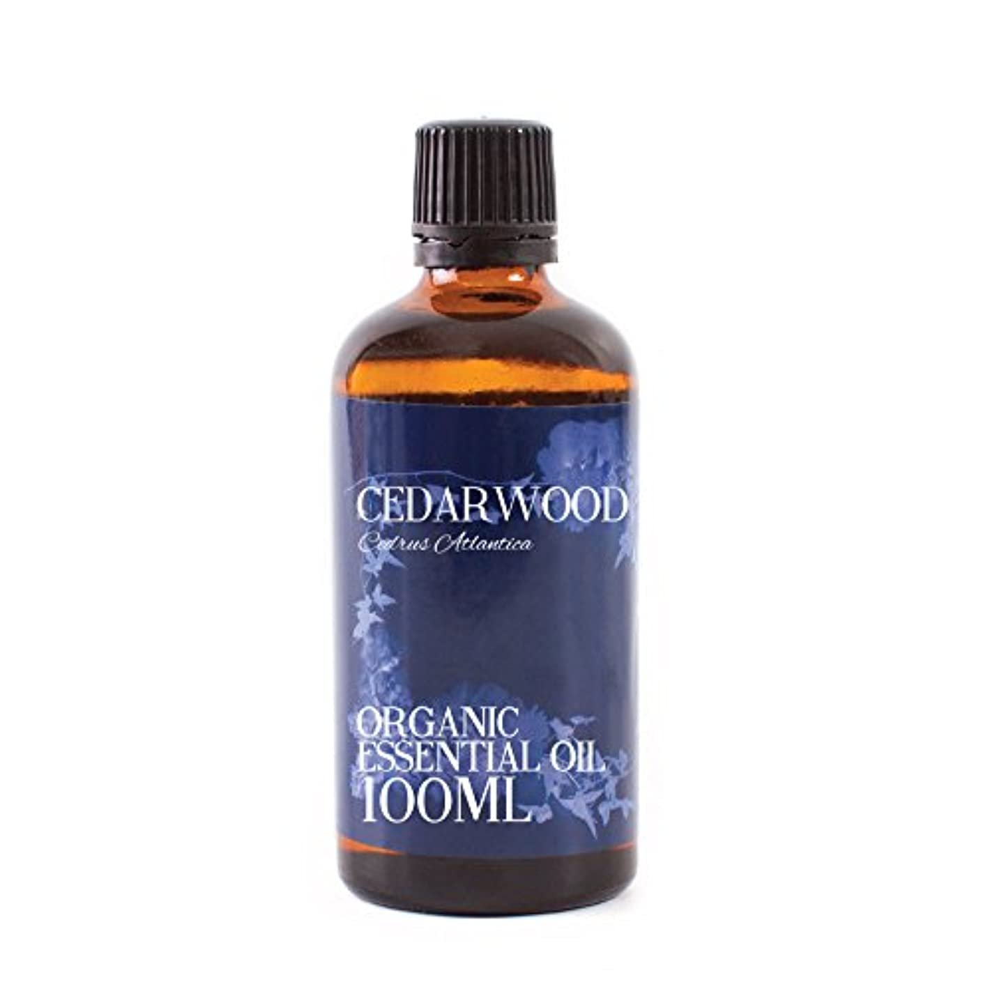 しおれた迷彩原告Mystic Moments | Cedarwood Organic Essential Oil - 100ml - 100% Pure