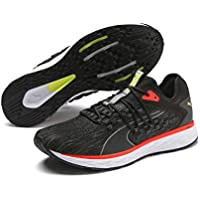 Puma Speed 600 FUSefit Men'S Road Running Shoes, Puma Black-Nrgy Red
