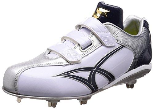 [エスエスケイ] 野球スパイク Maxi Light Y-Neo-VC SSF3004 ホワイト*ネイビー (1070) 28 cm