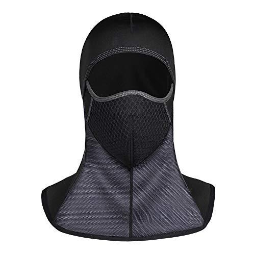 バラクラバ 目出し帽 フェイスマスク バイク スキー サイク...