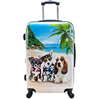 """Chariot Chariot 20"""" Lightweight Spinner Carry-on Upright Suitcase - Kona"""