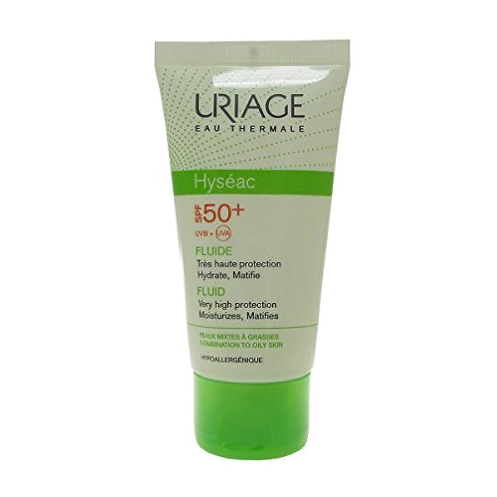 局縁石ほこりっぽいUriage Hyseac Sunscreen Fluide Spf 50 50ml [並行輸入品]