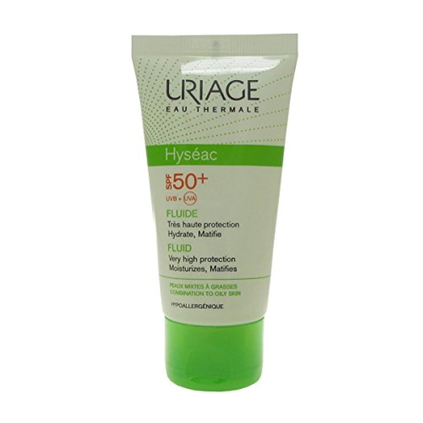 中世のタック名目上のUriage Hyseac Sunscreen Fluide Spf 50 50ml [並行輸入品]