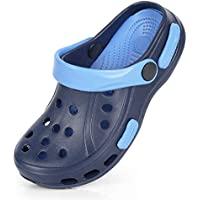 Sawimlgy US Toddler Kids Boys Girls Comfort Clogs Slip On Garden Slippers Water Sandals Lightweight Summer Pool Beach Shoe (Toddler/Little Kids)