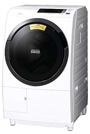 日立 ドラム式洗濯乾燥機 ビッグドラム 10kg 左開き ホワイト BD-SG100CL W