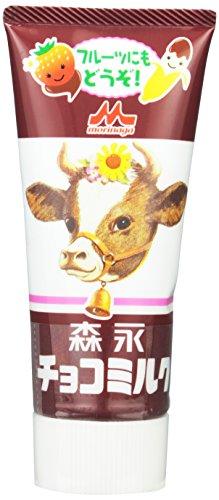 森永乳業 チョコミルク チューブ入り 130g×4個