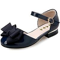 通用 HB Girls Princess Leather Ballet Shoes Plat Glitter Dress for Pretty Girl