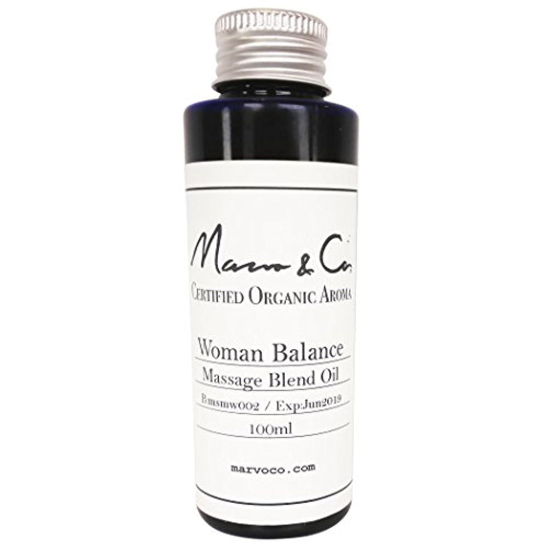 Marvo&Co(マーヴォ&コー) マッサージオイル ウーマンバランス (150mL)