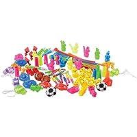 U.S. Toy SA153 Whistle Assortment(92 Piece) [並行輸入品]