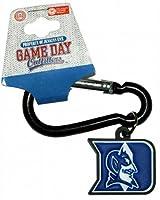 NCAA DukeブルーDevils PVCカラビナキーチェーン