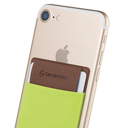 手帳型ケース Sinjimoruスイカ 定期券 ICカード入れ iphone android など スマホ背面ポケット シンジポ-チflap グーリン