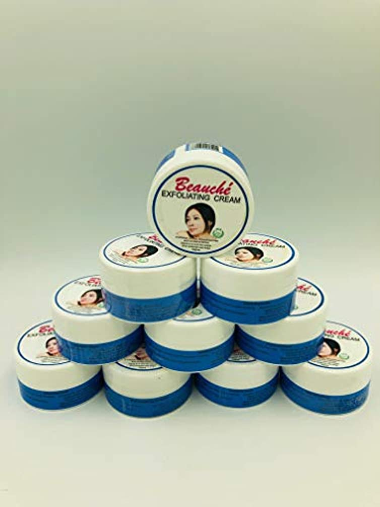 何十人もトロリーバス輸送Beauche Cream 10g (Exfoliating Cream 10個)