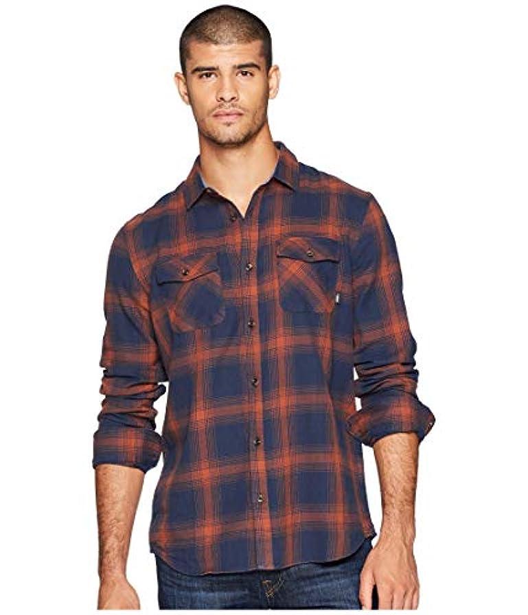 代替案惑星フライト[VANS(バンズ)] メンズシャツ?アウター Monterey III Woven Dress Blues/Sequoia M