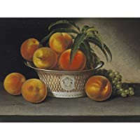 Raphaelle Peale Still Life With Peaches Large Art Print Poster Wall Decor Premium Mural それでも生活大アートポスター壁デコ