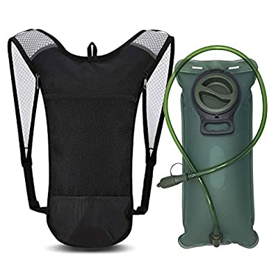 Hydration Bladder 3 Liter,3 Liter Water Bladder, Leak Proof Water Reservoir for Backpack, Tasteless & BPA Free TPU Material, Water Storage Bladder Bag for Hiking Climbing Cycling