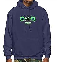 CHEER1 Jacksepticeye Boss Men's Sweater Long Sleeve Hoodie with Pocket Black