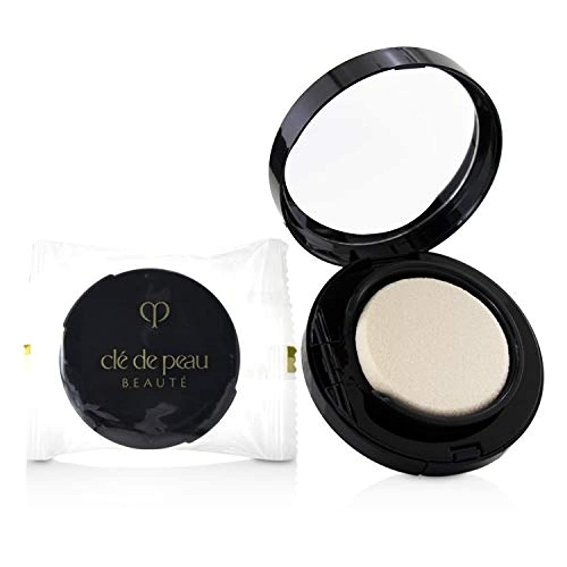 粘り強いラジウム助手クレ?ド?ポー Radiant Cream To Powder Foundation SPF 25 - # B10 (Very Light Beige) 12g/0.42oz並行輸入品